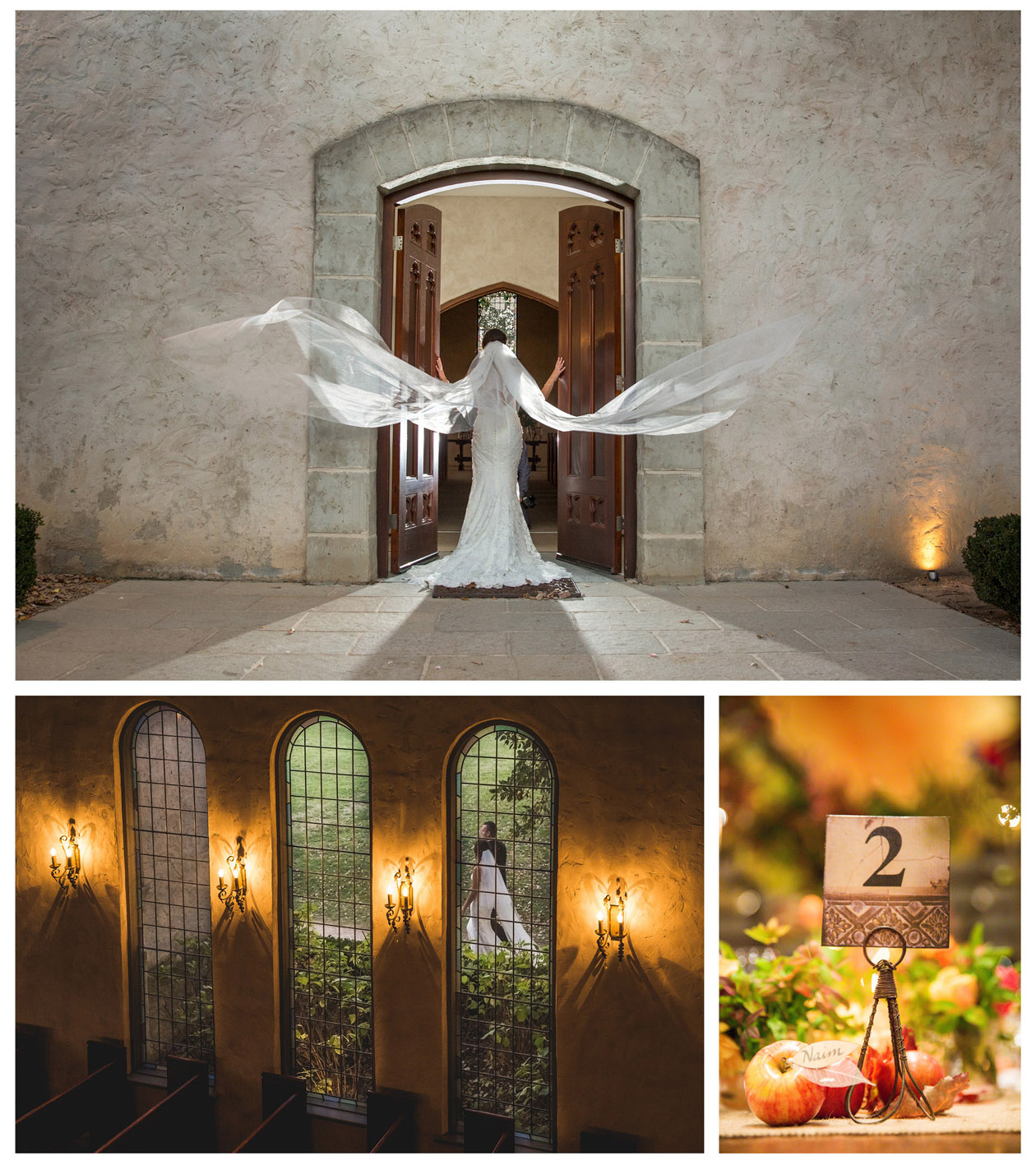 The Macedonian girl with a white veil took a lot of creative wedding photos after her beautiful wedding in Stones of the Yarra Valley